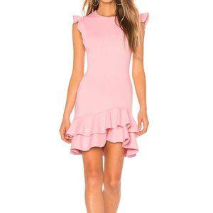 Susana Monaco Parfait Sleeveless Ruffle Dress